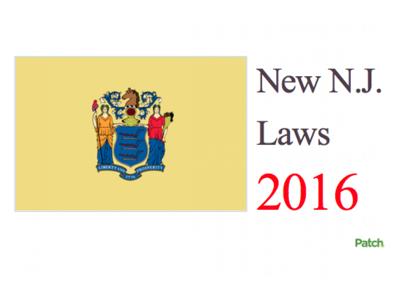 10 New NJ Laws That May Change Your Life In 2016