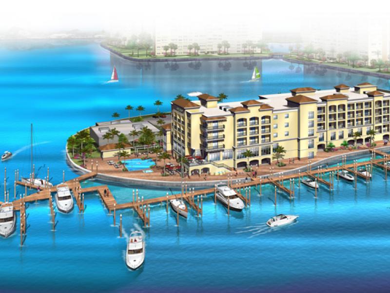 Construction Begins On Madeira Beach Courtyard Marriott 0