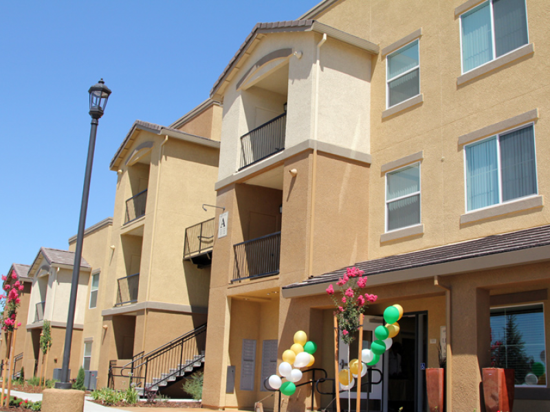 Low income apartment complex opens on elk grove florin - Cheap apartments in garden grove ...