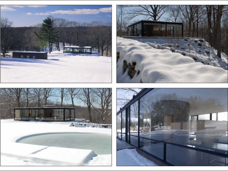 Philip johnson glass house visitor center shop holiday shopping hours