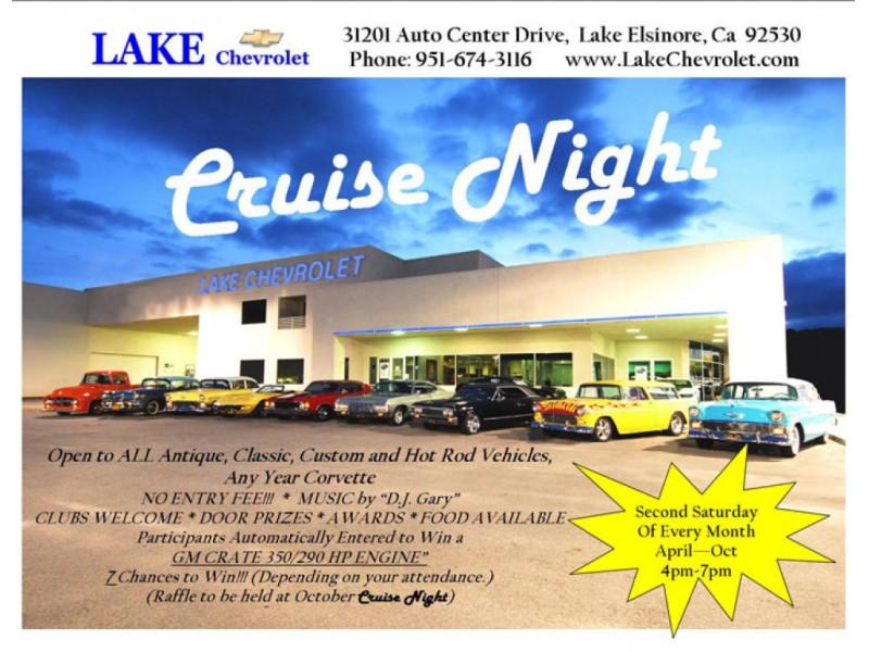 Wonderful Lake Chevrolet Cruise Night