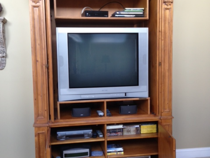... For Sale Ethan Allen TV Cabinet 0 ...