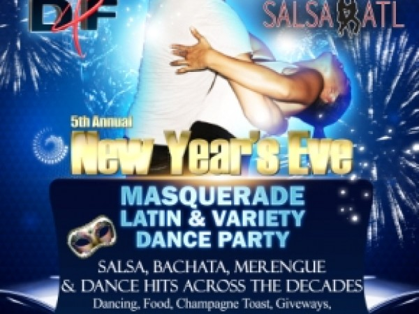 New Years Eve Salsa top 40s Dinner Dance Party Atlanta Ga
