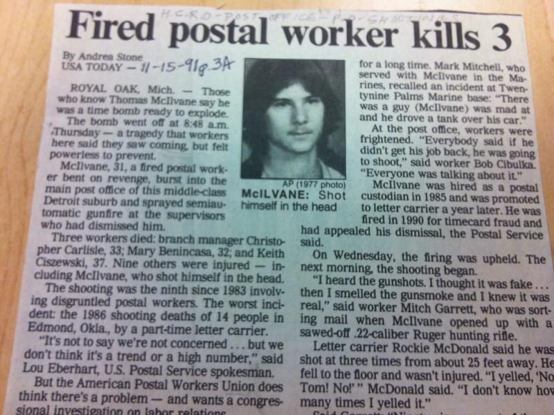 Royal Oak Remembers Postal Shootings Royal Oak Mi Patch