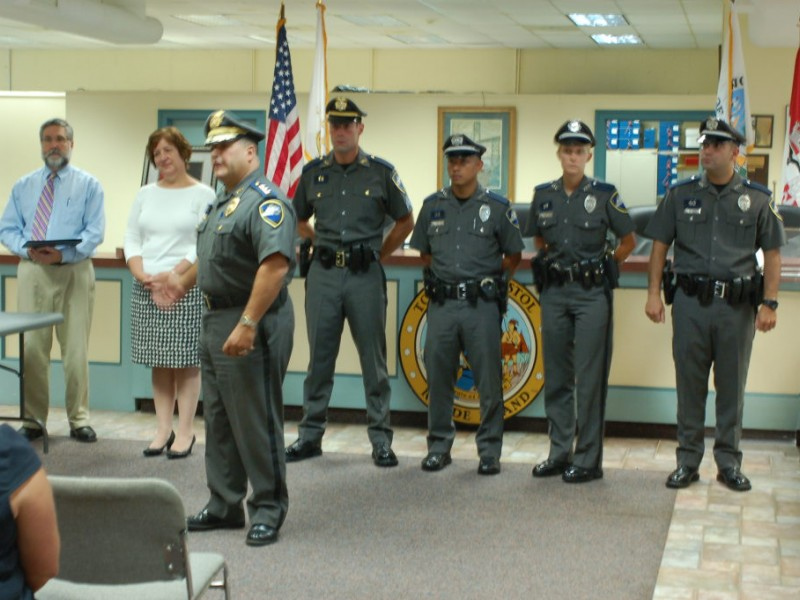 Bristol police department promotes four bristol ri patch - Restaurants in garden city cranston ri ...