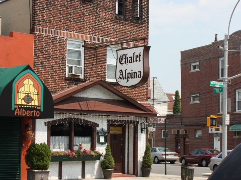 Bites Nearby: Chalet Alpina Restaurant | Forest Hills, NY Patch