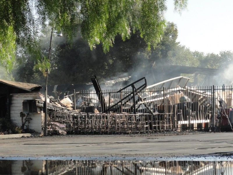 Three Alarm Fire Levels Summer Winds Nursery In South San Jose Campbell Ca Patch