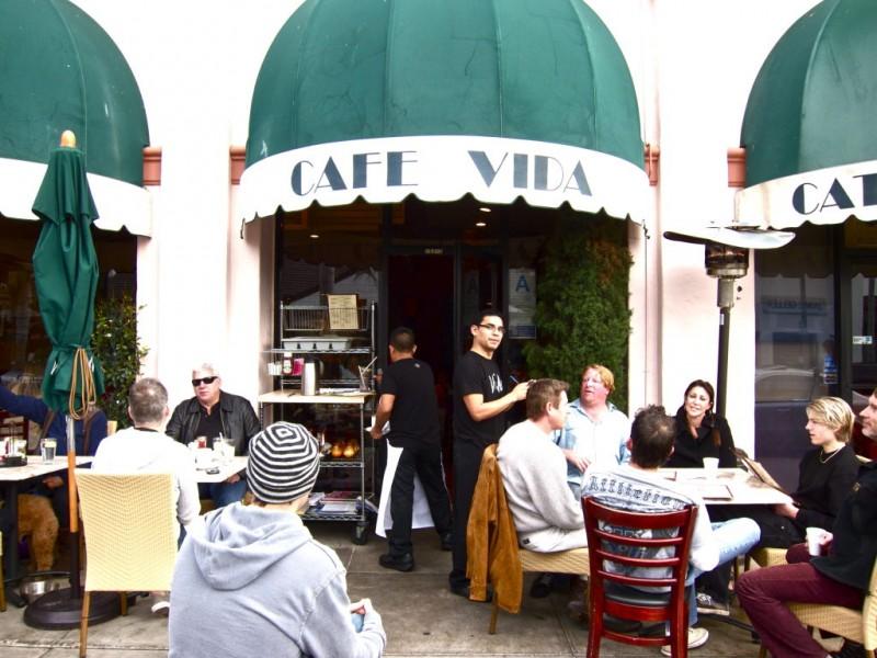 Cafe Vida Menu Culver City Ca