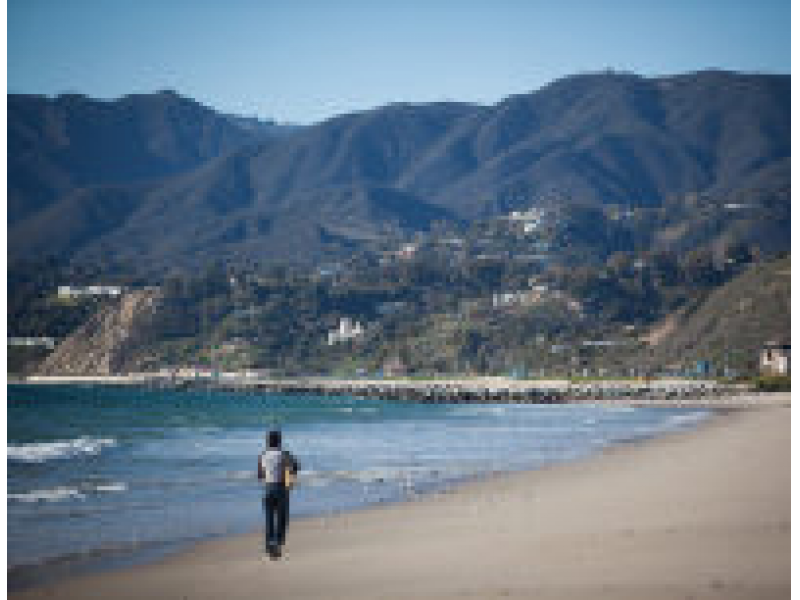 Water Quality For Stretch Of Will Rogers State Beach Scores High