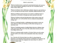 ... Fleur De Lis Garden Society Celebrates National Garden Club Week 3 ...