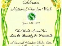 Great ... Fleur De Lis Garden Society Celebrates National Garden Club Week 4 ...