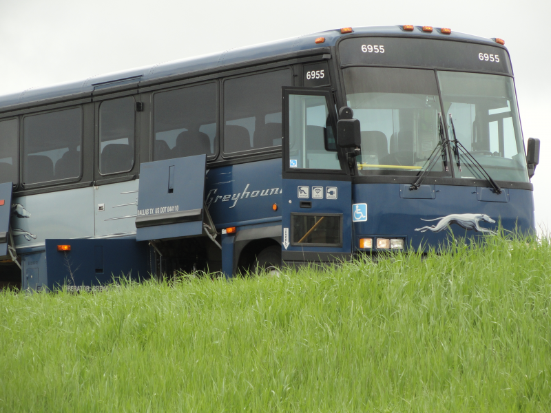 Updated: Police Stop Greyhound Bus on I-94 After Passenger
