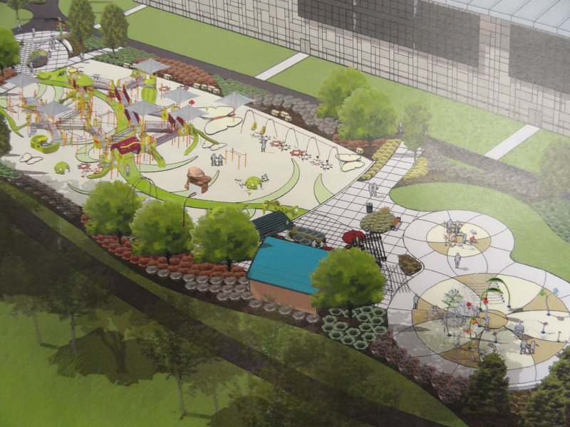 Nature Theme Planned For Splash Pad Madison S Place