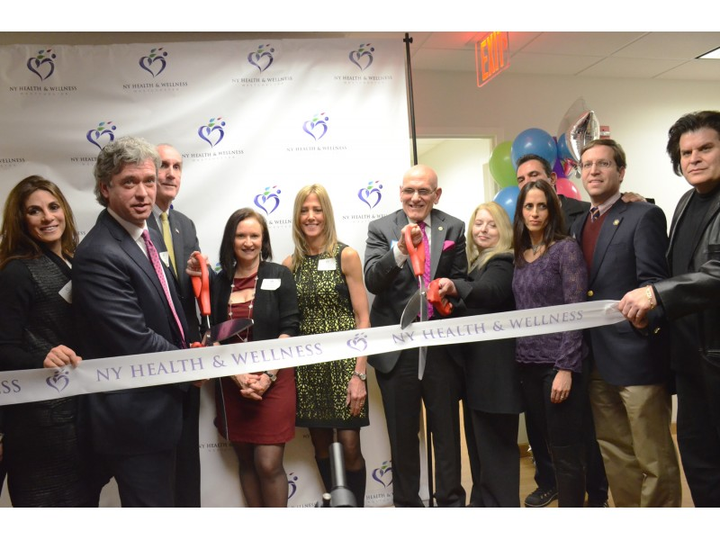Official Ribbon Cutting At New York Health Wellness Center Unveils