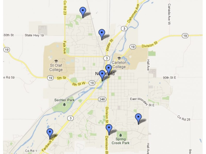 MAP: Animals at Large, Bites in Northfield (Sept. 7-Oct. 7 ...