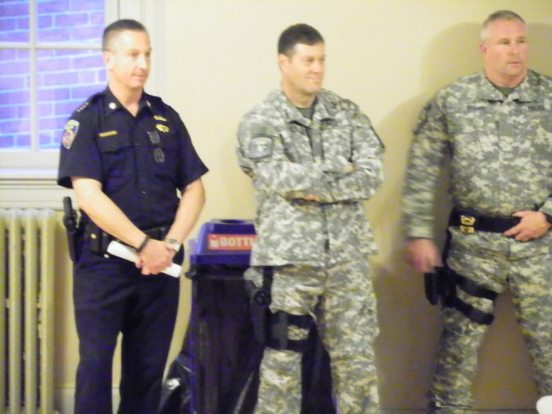 Framingham Town Meeting Gives Standing Ovation to Framingham Police ...