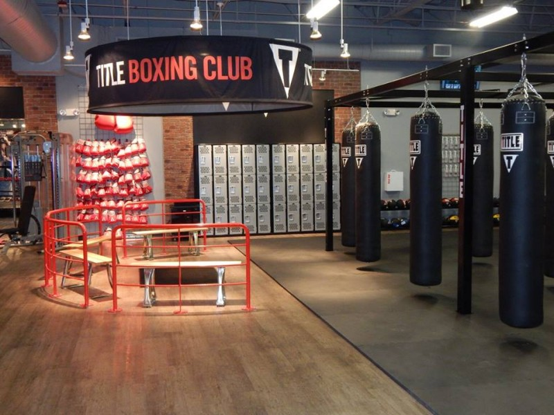Get a championship workout at title boxing club in for Boxing club salonais