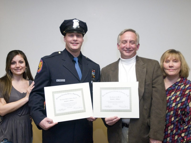 Seaford Resident Honored At Nassau County Police -5541