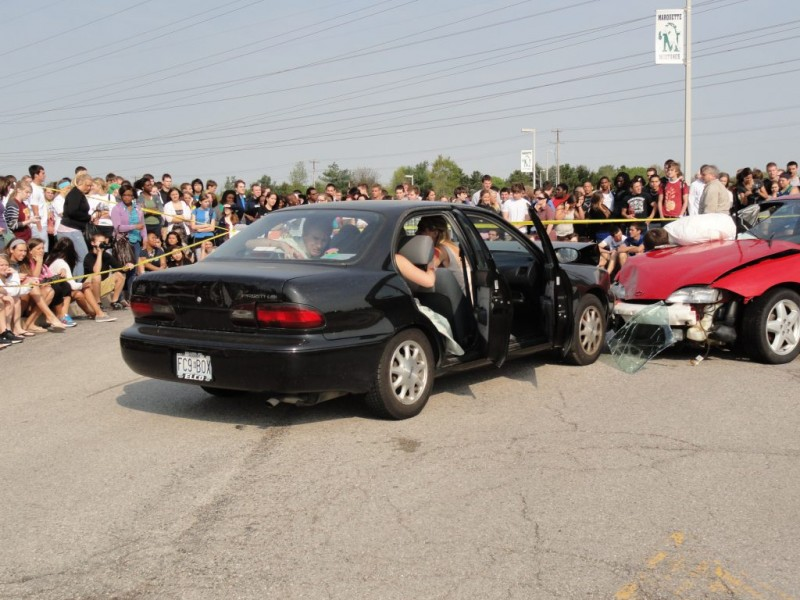 Graphic Crash Reenactment Used to Deter Prom-goers from Drinking ...