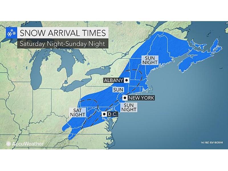 Connecticut snow forecast