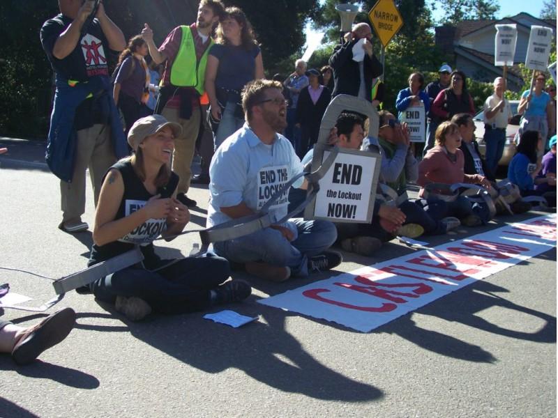 Castlewood Country Club Pleasanton Ca Best Outdoor: Castlewood Country Club Workers Protest, Block Golf