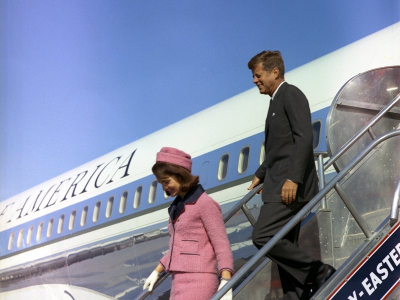 Jackie Kennedy's Famous Pink Suit is in Maryland But You Can't See It