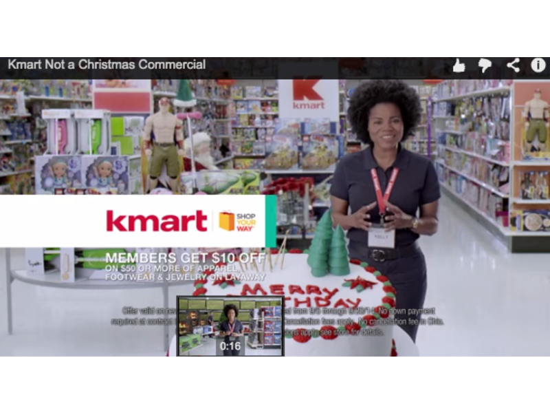 Kmart Leads Christmas Creep | Ellicott City, MD Patch