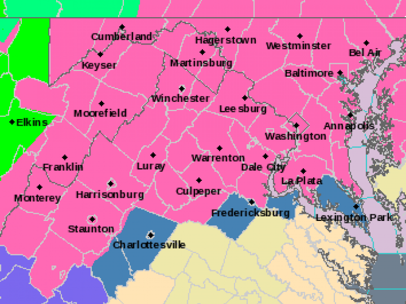 When Does Winter Storm Warning Start for County? | Annapolis
