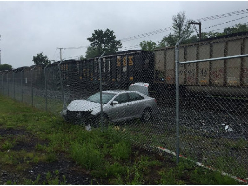 Coal train hits car in gaithersburg gaithersburg md patch for Gaithersburg motor vehicle administration gaithersburg md