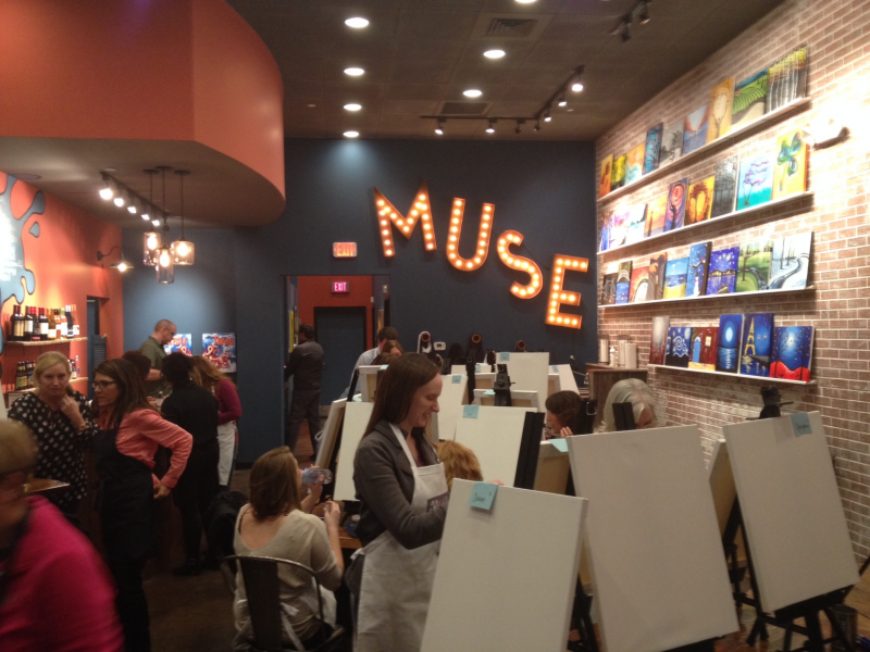 Muse Paintbar Opens In West Hartford West Hartford Ct Patch
