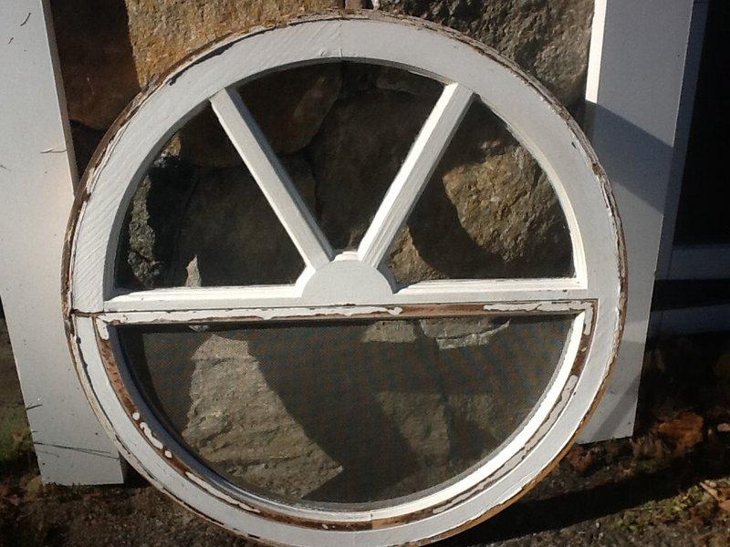 Round window frame, $35 | Newtown, CT Patch