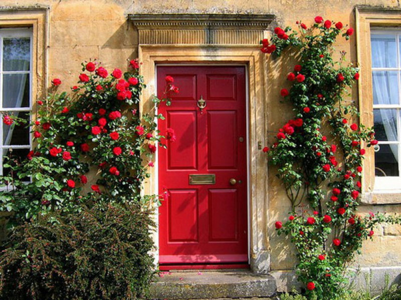 What Does A Red Front Door Mean