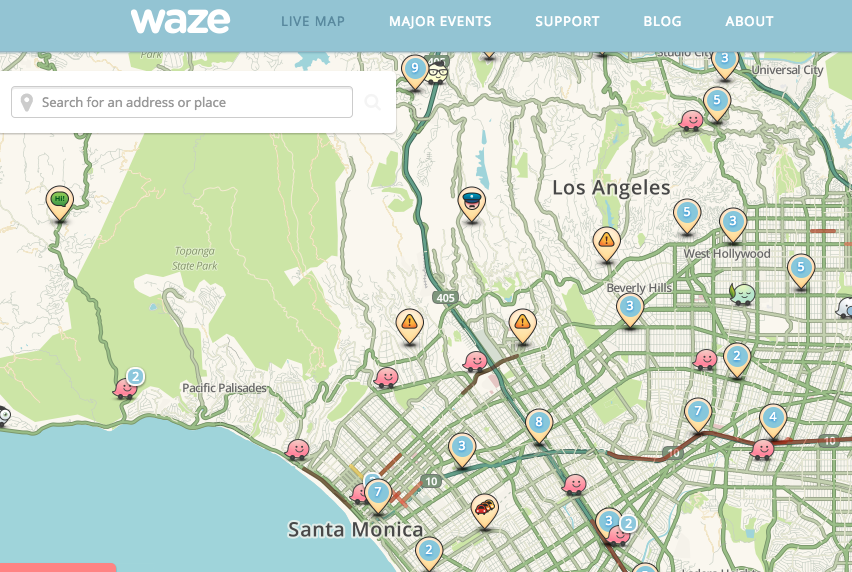 Crowdsourcing Traffic App A Threat to Cops, Police Chief Says