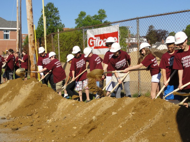 Portsmouth Middle School Renovation Project Breaks Ground Portsmouth Nh Patch