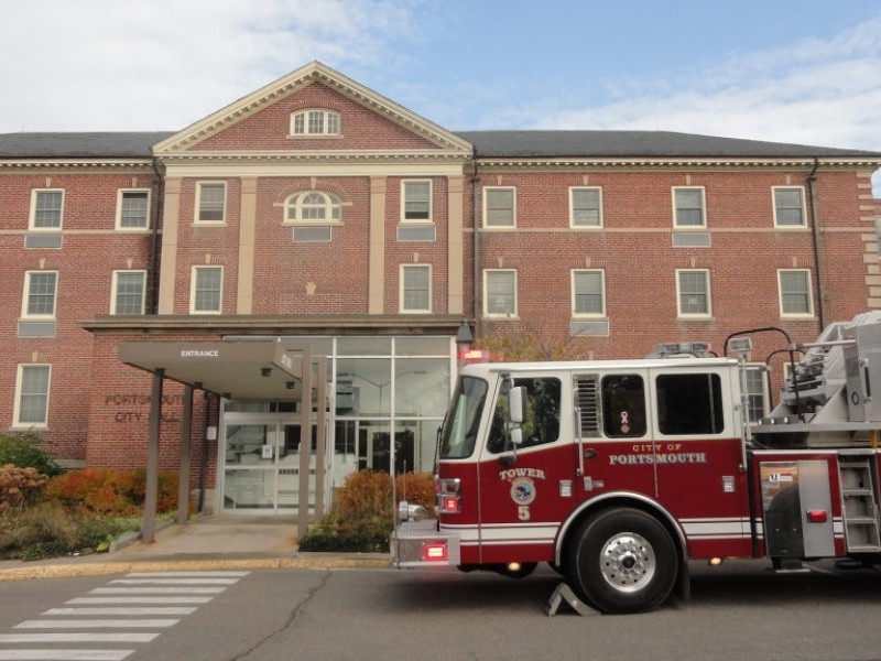 Transformer Fire Hits Portsmouth City Hall Portsmouth Nh Patch