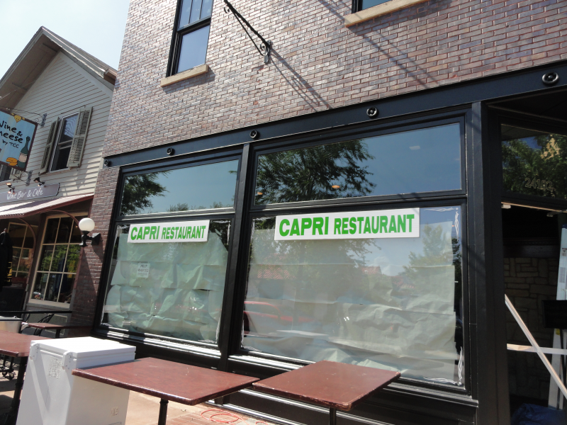 Village New Plainfield Italian Restaurant Could Open In July