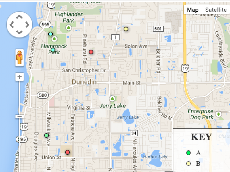 Map: How 2013 School Grades Compare Across Pinellas County, Tampa Bay