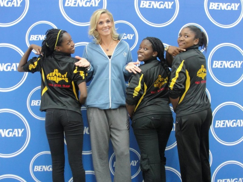 5-Time Olympic Swimmer Dara Torres Makes a Splash at the Bed-Stuy YMCA |  Bed-Stuy, NY Patch