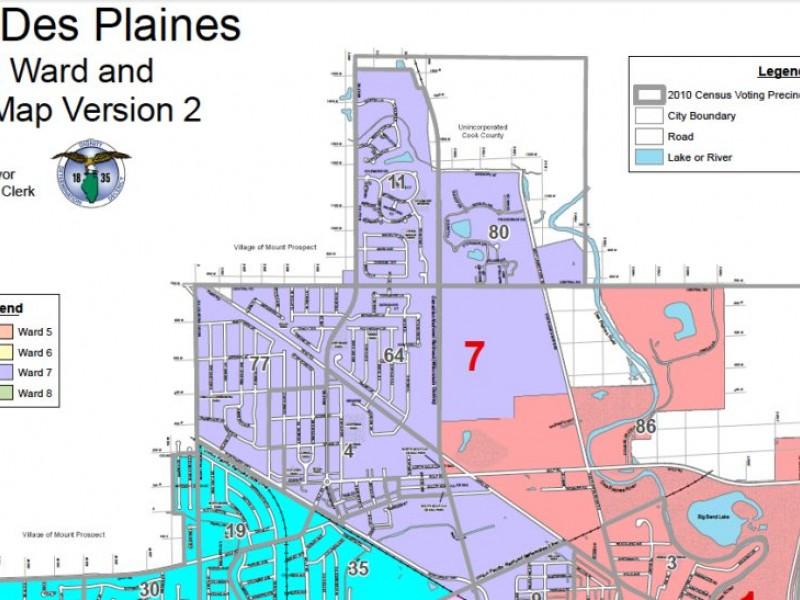 Des Plaines Considers New Ward Boundaries Des Plaines IL Patch