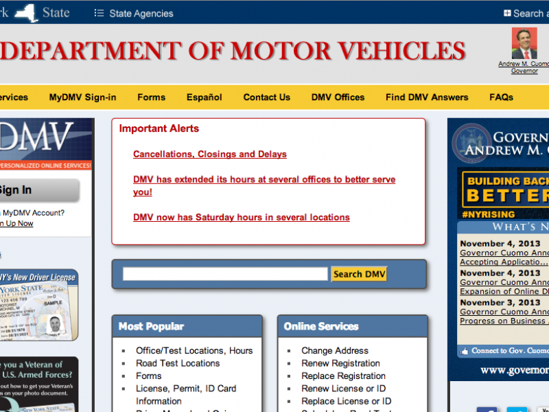 Ny State Vehicle Registration Renewal Vehicle Ideas