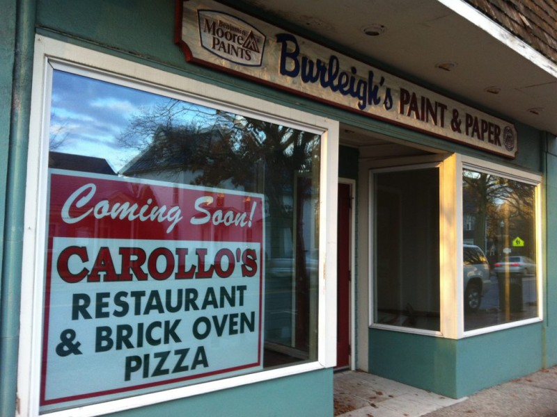 Italian Restaurant On Main Street In Moorestown
