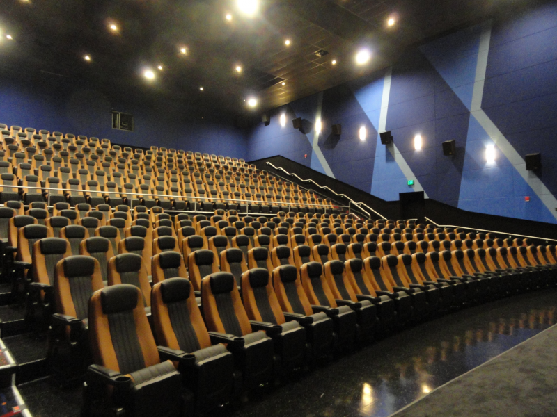 A Movie Theater That Charges A Lower Price