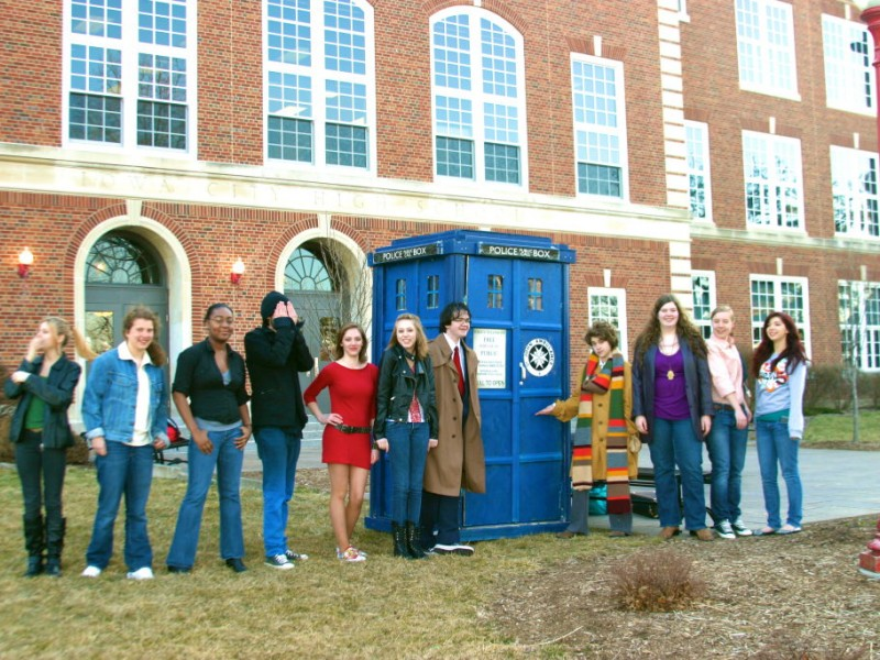 Dr Who Time Travel And April Fools 39 Day Prank At City High Iowa City Ia Patch