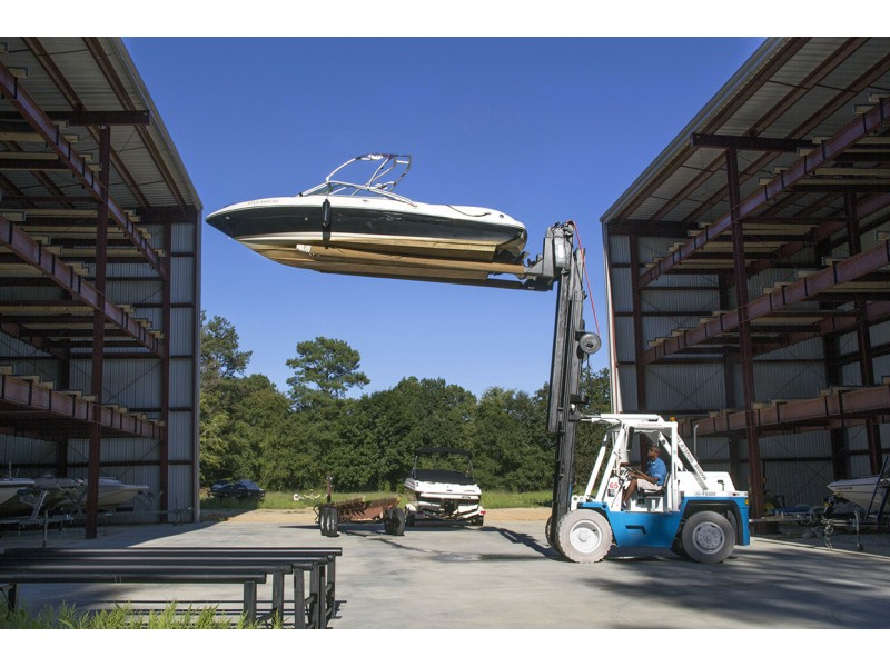 Harbor Club Opens Dry Stack Boat Storage Facility On Lake