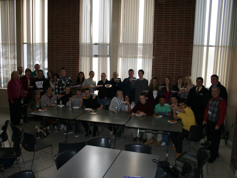 Plymouth North Students Mean Businessu2026Tracy Chevrolet Cadillac Recognizes  Plymouth North Marketing Students.