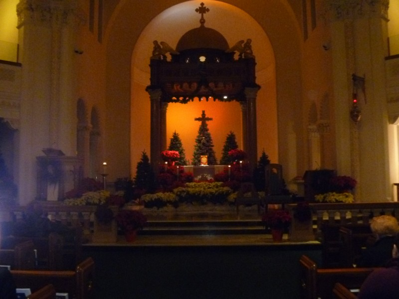 A Musical Midnight Mass Downtown At St Mary S And A Look