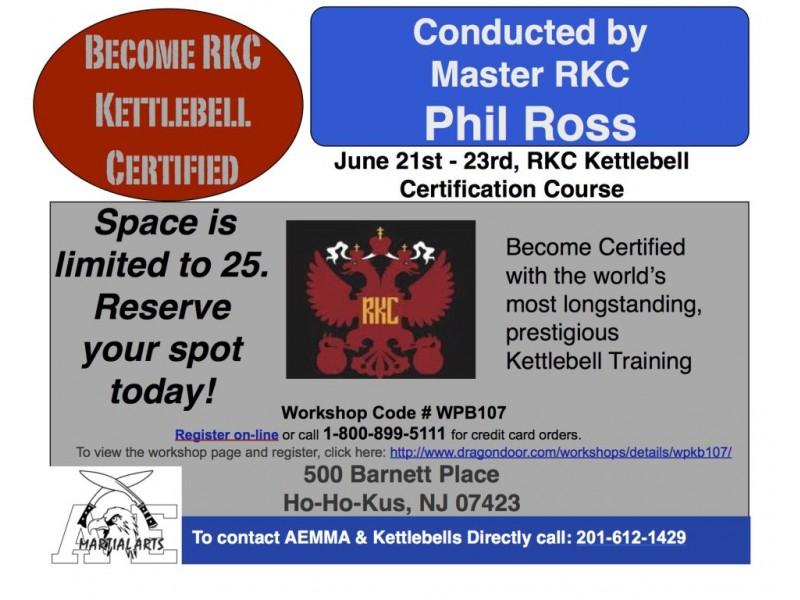 RKC Kettlebell Certification | Ridgewood, NJ Patch