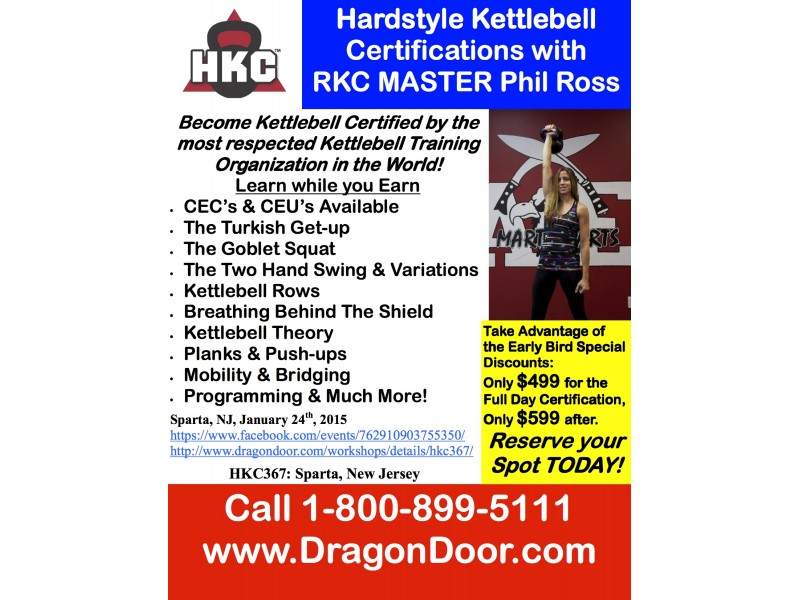 Kettlebell Certification January 24th | Ridgewood, NJ Patch