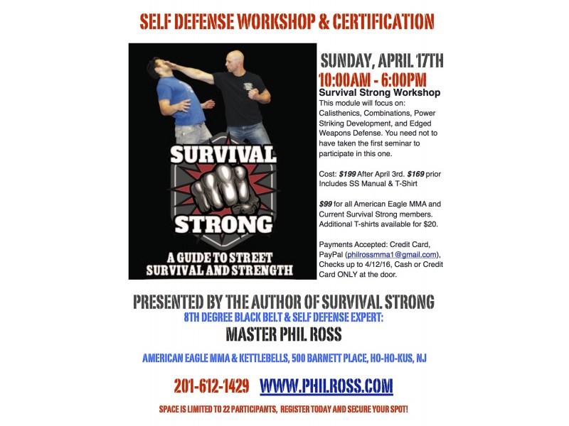 Survival Strong Self Defense Seminar Ridgewood Nj Patch