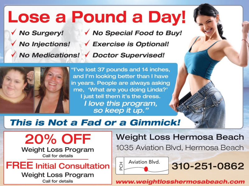 Lose A Pound A Day In This Doctor Supervised Weight Loss Program